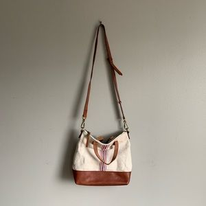 Madewell Small Canvas Transport Tote